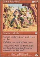 Goblin Warchief - Foil