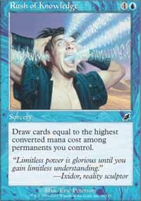 Rush of Knowledge - Foil