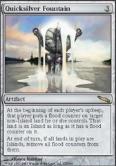 Quicksilver Fountain - Foil
