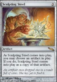 Sculpting Steel - Foil