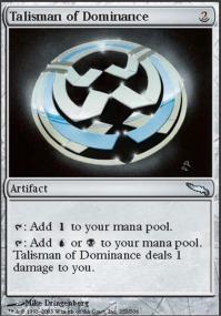 Talisman of Dominance - Foil