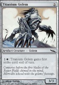 Titanium Golem - Foil