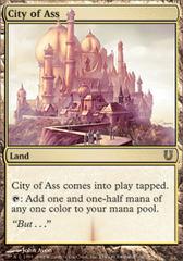 City of Ass - Foil