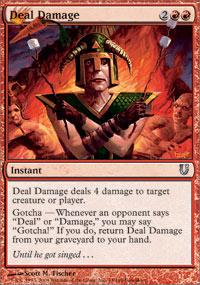 Deal Damage - Foil