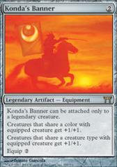 Konda's Banner - Foil