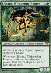 Shisato, Whispering Hunter - Foil