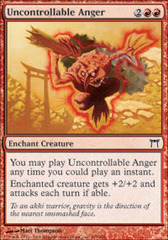 Uncontrollable Anger - Foil