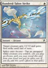 Hundred-Talon Strike - Foil