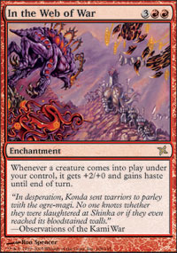 In the Web of War - Foil