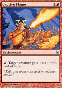 Captive Flame - Foil