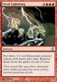 Feral Lightning - Foil