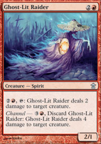 Ghost-Lit Raider - Foil