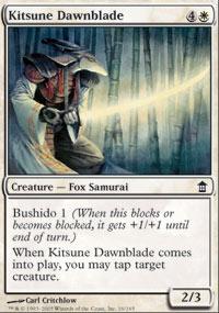 Kitsune Dawnblade - Foil