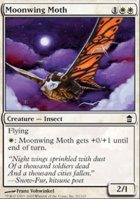 Moonwing Moth - Foil