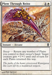 Plow Through Reito - Foil