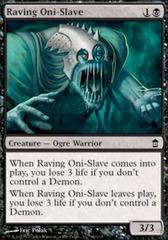 Raving Oni-Slave - Foil