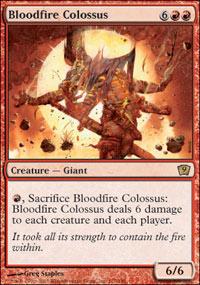 Bloodfire Colossus - Foil
