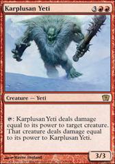 Karplusan Yeti - Foil
