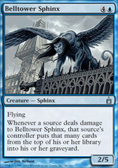 Belltower Sphinx - Foil on Channel Fireball