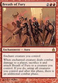 Breath of Fury - Foil