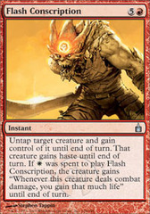 Flash Conscription - Foil