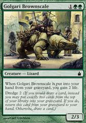 Golgari Brownscale - Foil