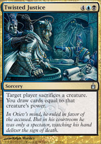 Twisted Justice - Foil