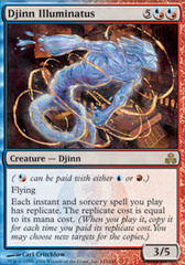 Djinn Illuminatus - Foil on Channel Fireball