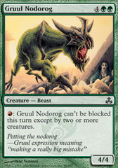 Gruul Nodorog - Foil on Channel Fireball