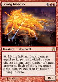 Living Inferno - Foil