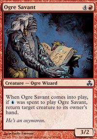 Ogre Savant - Foil