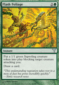 Flash Foliage - Foil