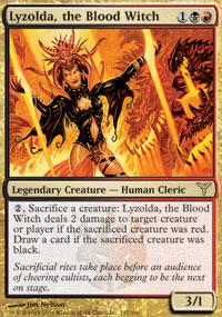 Lyzolda, the Blood Witch - Foil