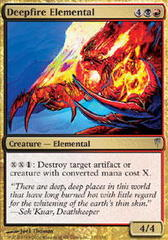 Deepfire Elemental - Foil on Channel Fireball