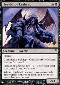 Herald of Leshrac - Foil