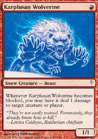 Karplusan Wolverine - Foil