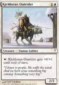 Kjeldoran Outrider - Foil