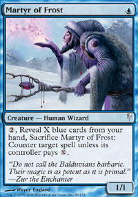Martyr of Frost - Foil