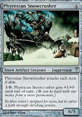 Phyrexian Snowcrusher - Foil