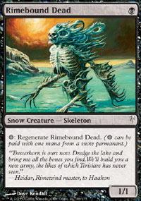Rimebound Dead - Foil