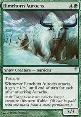 Rimehorn Aurochs - Foil