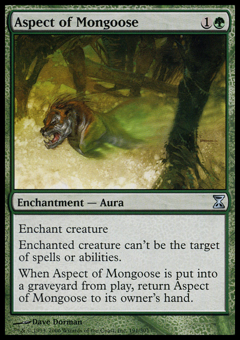 Aspect of Mongoose - Foil