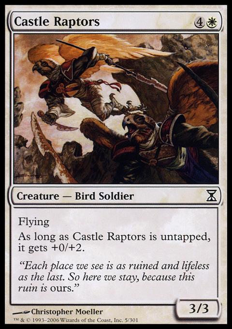 Castle Raptors - Foil