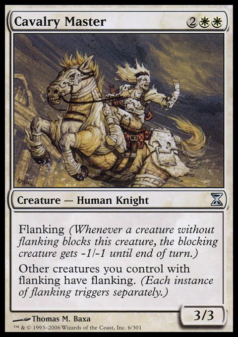 Cavalry Master - Foil