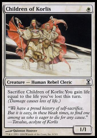 Children of Korlis - Foil - Magic Singles » Modern Sets (except