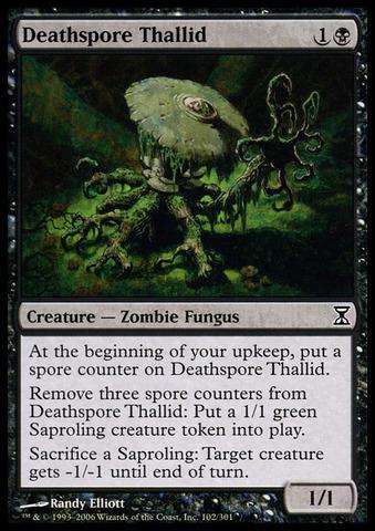 Deathspore Thallid - Foil