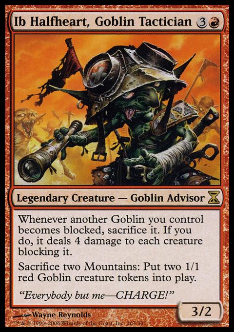 Ib Halfheart, Goblin Tactician - Foil