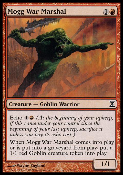 Mogg War Marshal - Foil