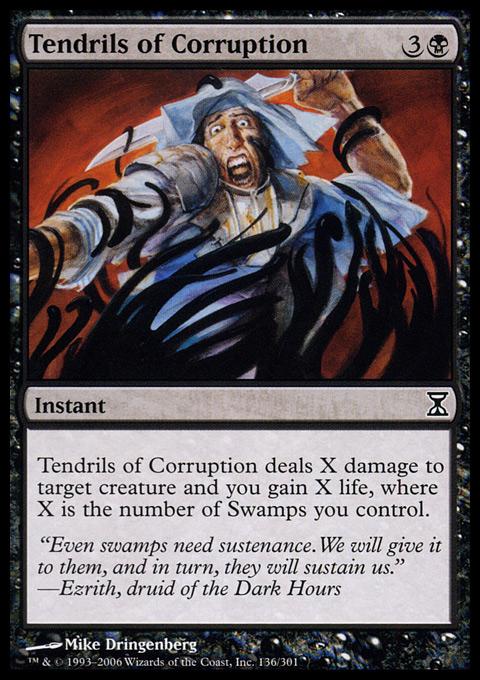 Tendrils of Corruption - Foil