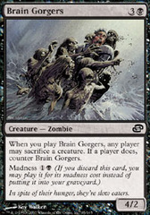 Brain Gorgers - Foil on Channel Fireball